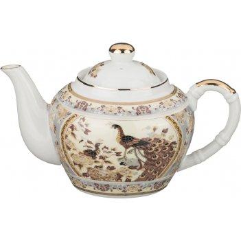 Чайник lefard павлин 680 мл (кор=24шт.)