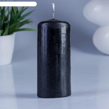 Свеча пеньковая 50х115 черная