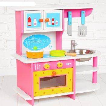 Игровой набор волшебная кухня, посудка в наборе