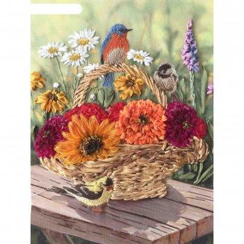 Набор для вышивания лентами «песня цветов»