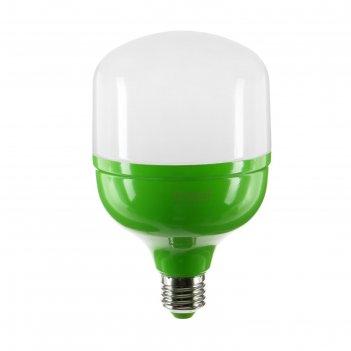 Лампа светодиодная для растений uniel, м80, e27, 20 вт, 165 мм, матовая
