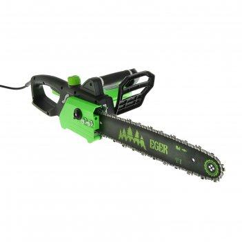 Пила электрическая цепная eger пэц-1816-01 1800 вт, шина 16/400 мм