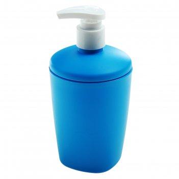 Дозатор для мыла голубая лагуна