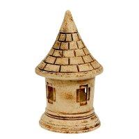 Садовый светильник башня  шамот