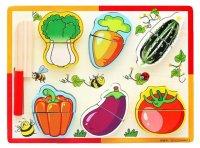 Набор для резки овощная грядка с ножом