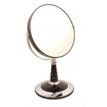 Зеркало b7 809 blk/c black наст. кругл. 2-стор. 5-кр.ув.18х3