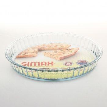Блюдо для запекания 28 см симакс (жаропрочная)