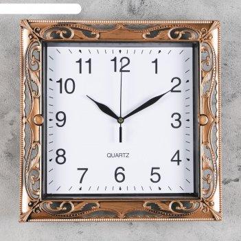 Часы настенные, серия: классика, ширли, 30х30 см, микс