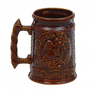 Кружка для пива башня 1л
