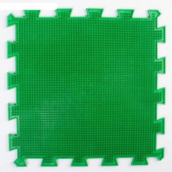 Детский массажный коврик   мягкая трава, цвет микс