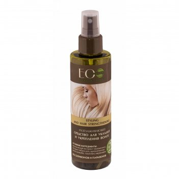 Разглаживающее средство для укладки и укрепления волос ecolab, 200 мл