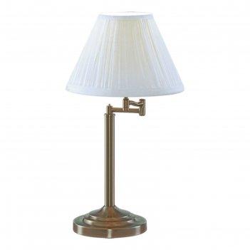 Настольная лампа a2872lt-1ab california 1x60w e27 28x39x55 см