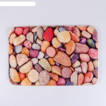 Коврик «камни», 40x60 см