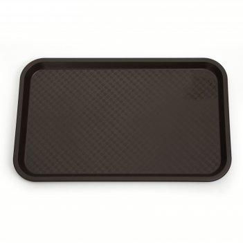 Поднос, 52,5x32,5 см, цвет коричневый