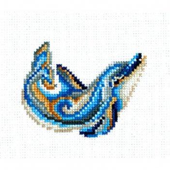 Набор для вышивания статуэтка дельфин