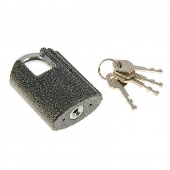 Замок навесной аллюр вс2ч-601, дужка d=10 мм, с закрытой дужкой, 4 ключа,
