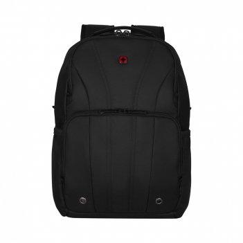 Рюкзак для ноутбука 12-14'' wenger, черный, полиэстер, 30x18x45