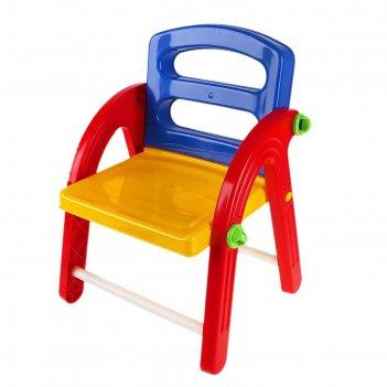 Детский стульчик малыш складной