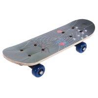 Скейтборд нв-074, размер 44x14 см, колеса pvc d= 50 мм