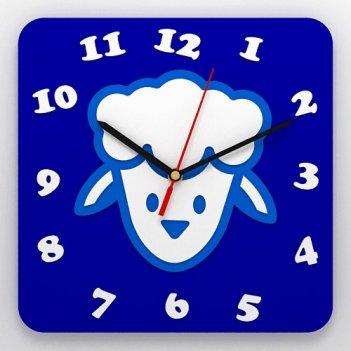 Детские настенные часы овечка