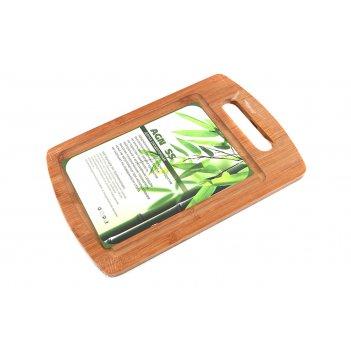 Доска разделочная agness 30*20*1 см бамбук (кор=12шт.)