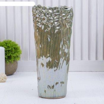 Ваза керамика перелив 27*12 см