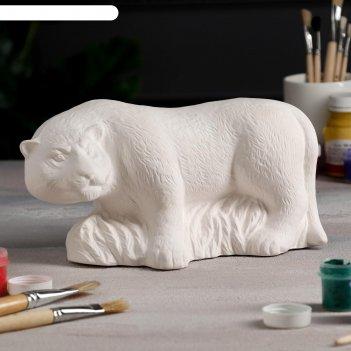 Копилка-раскраска тигр, 26 см х 12 см х 14 см