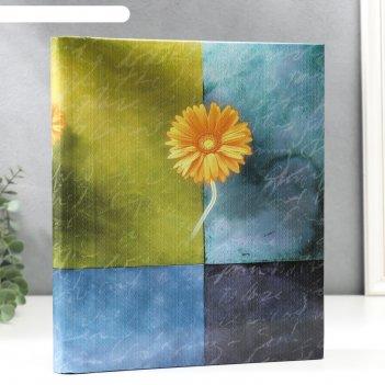 Фотоальбом  магнитный на 20 листов цветочная коллекция-9 микс