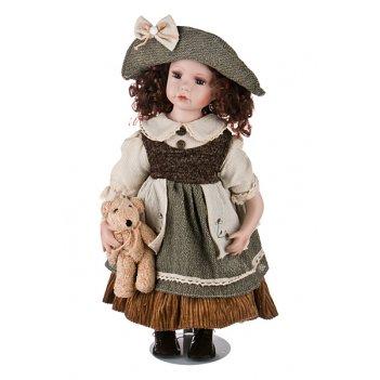 Кукла фарфоровая высота=50 см. (кор-6шт.)