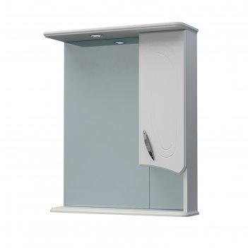 Шкаф-зеркало палермо 60с белый