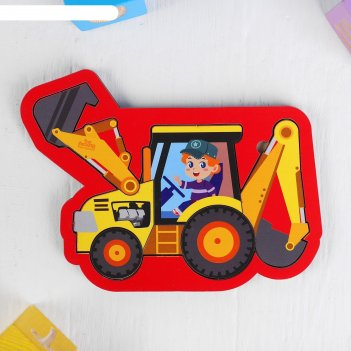 Головоломка пазл трактор