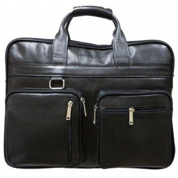 Сумка мужская, 41х13х32 см, отдел на молнии, 2 наружных кармана, длинный р