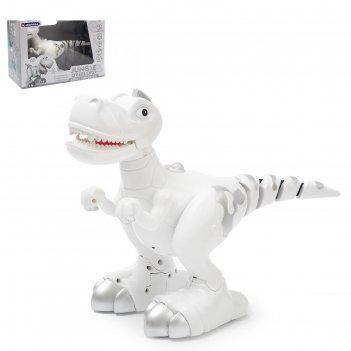 Робот «умный динозавр», ходит, реагирует на касания, подвижный хвост, рабо