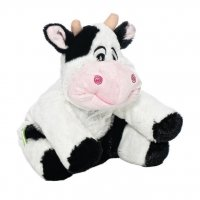 Мягкая игрушка-грелка корова, 30 см