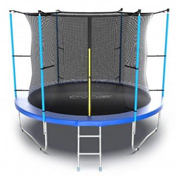 Батут evo jump internal 10 ft, d=305 см, с внутренней сеткой и лестницей,