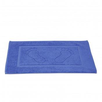 Коврик для ванной, karna gren, 50х70 см, цвет голубой 2760