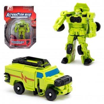 Робот-трансформер воин