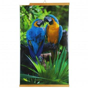 Обогреватель домашний очаг попугаи, инфракрасный, 500 вт, 1050 х 600 х 0.5