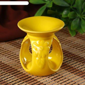 Аромалампа керамика цветок пустыни микс 8,5х8х8 см