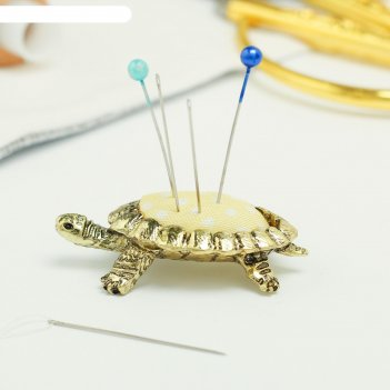 Игольница «черепаха», под лaтунь