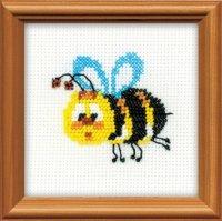 Набор для вышивания бисером пчелка
