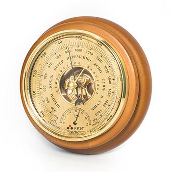 Барометр термометр бтк-сн 14, размер 17,6х5см