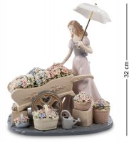 Cms-20/20 композиция девушка с цветами (pavone)