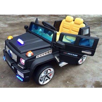 Электромобиль mercedes g (гелик) а111мр vip черный матовый new 2015