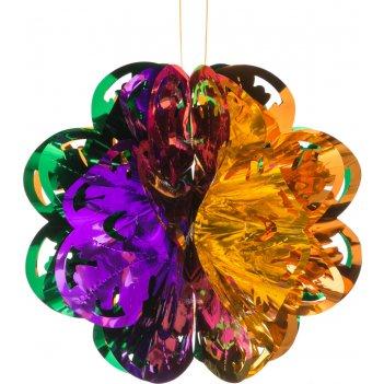 Декоративное изделие подвес шар 30  см.