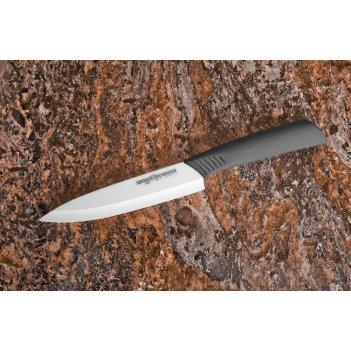 Нож кухонный универсальный 125 мм, белая циркон