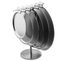 Держатель для крышек настольный, матовая сталь, серия panopl