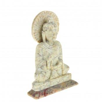 Сувенир будда из камня