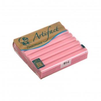 Пластика - полимерная глина 56гр перламутр розовый