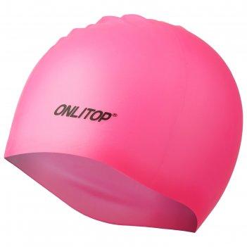 Шапочка для бассейна onlitop, цвет микс